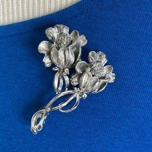 Vintage Floral Pin